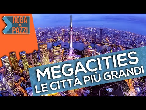 TOP 5 - Le città più grandi del mondo