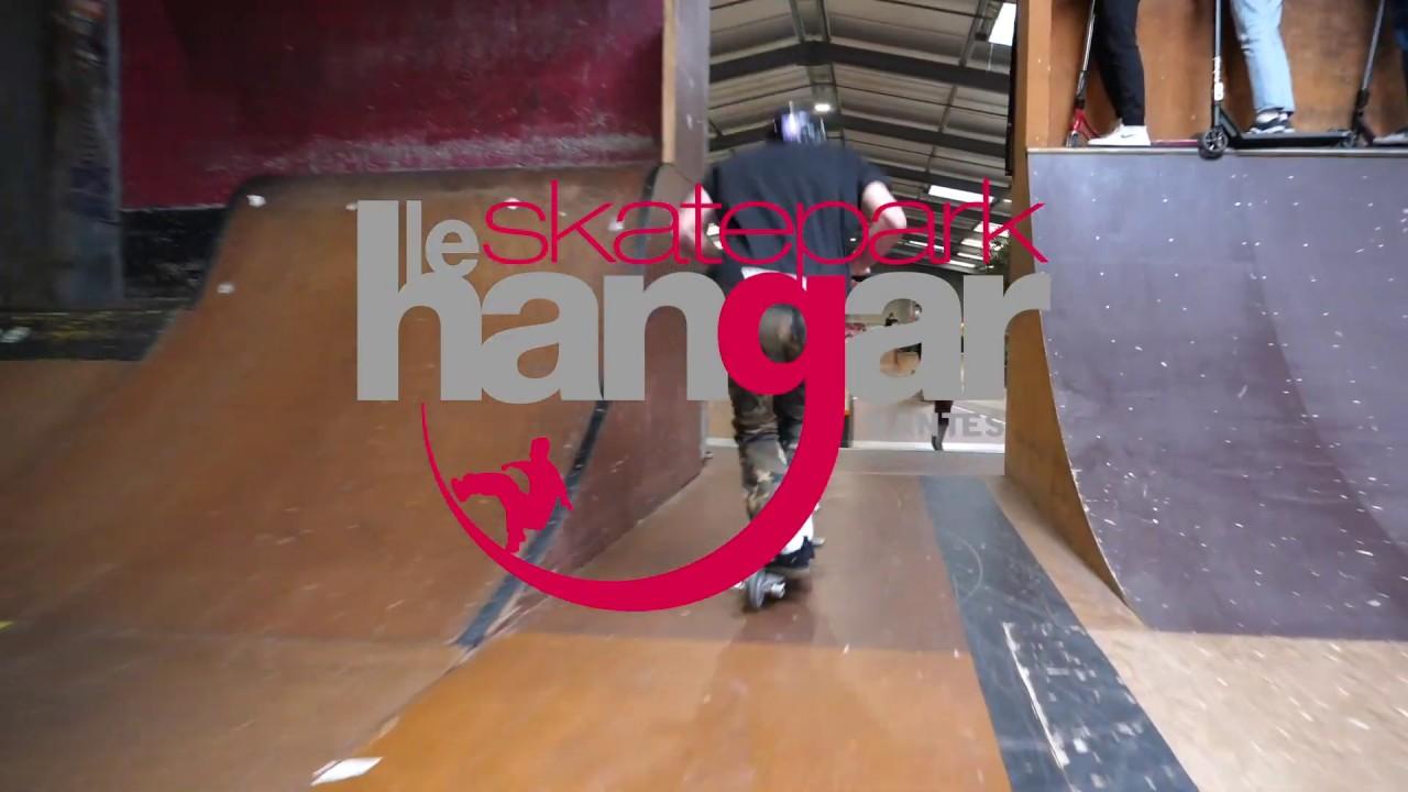 SKATEPARK LE HANGAR de Nantes