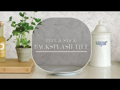 How to Install Peel and Stick Backplash Tiles