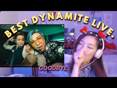 "BTS ""Dynamite"" LIVE on AGT ⭐ America's Got Talent 2020 Performance 💜 REACTION"