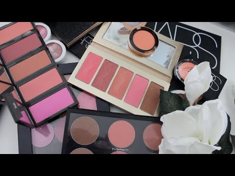 Makeup Mayhem--BLUSHES!!! Makeup Collection & Declutter!