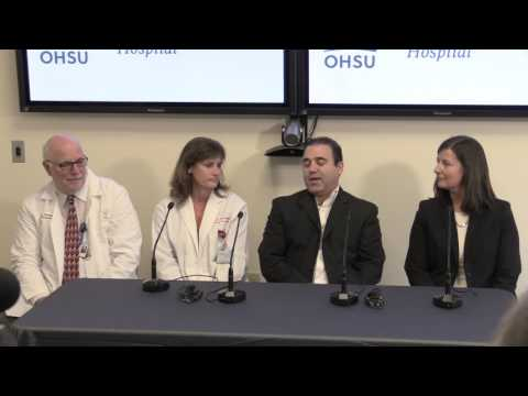 OHSU doctors give update on condition of Iranian infant Fatemah Reshad following heart surgery