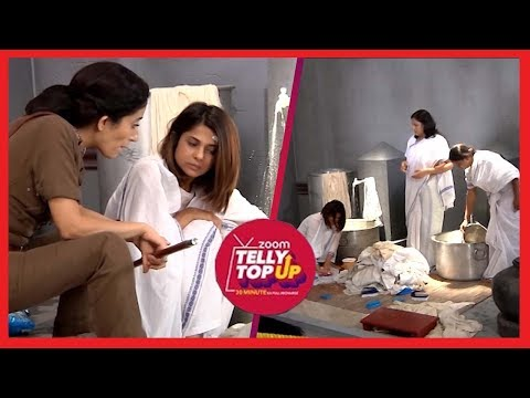 Thumbnail: Police Inspector Tortures Maya And Asks Her To Wash Clothes, She Cries In Pain | Beyhadh