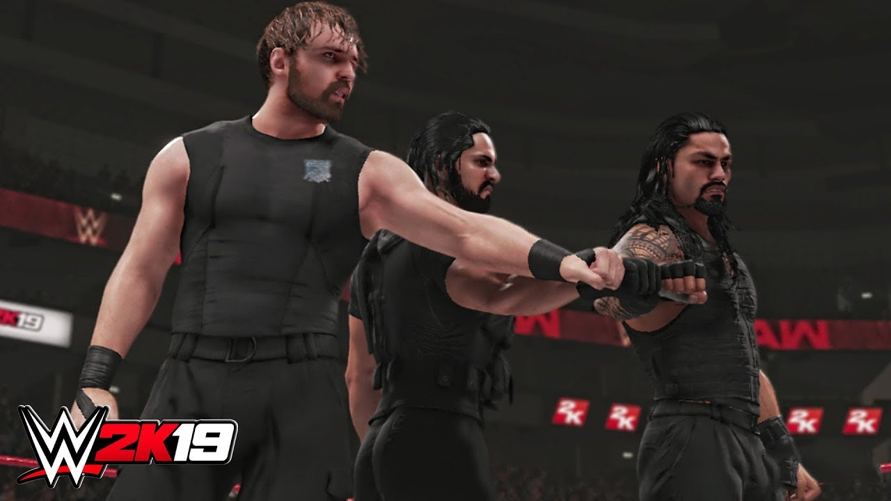 WWE 2K19 - The Shield Entrance, NEW Triple Powerbomb & Victory ...