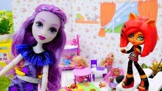 Мультик #МонстерХай: Ари - воспитатель в детском саду! Видео для девочек Школа Монстров