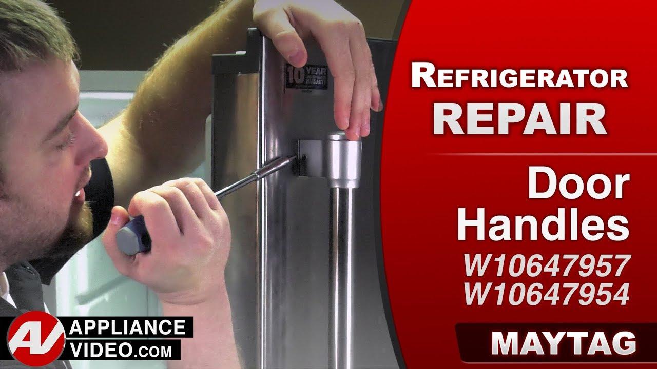 Maytag Amp Whirlpool Refrigerator Handle Is Loose Door