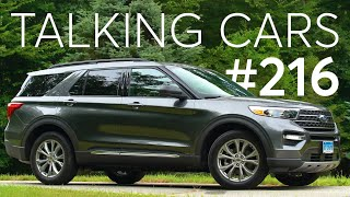 2020 Ford Explorer First Impressions; How Are CUVs and SUVs Different? | Talking Cars #216