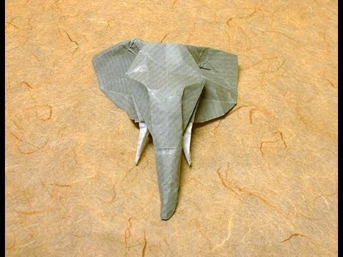 How to Make an Origami Elephant Head 🐘 Tutorial (Stéphane ... | 360x480
