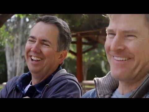 Gun Debate Comedy Sketch  Dads In Parks w Gregg Binkley  Parenting Comedy Videos