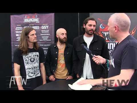 ALL THEM WITCHES Interview at Download UK 2018   HEAVY TV