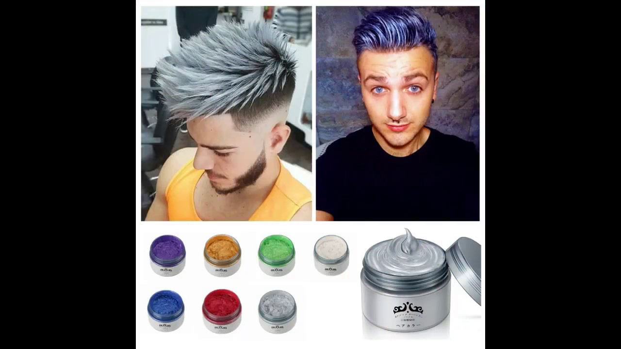 Japanese Colored Hair Wax Youtube