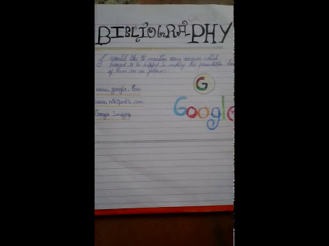 Meaning Of Bibliography
