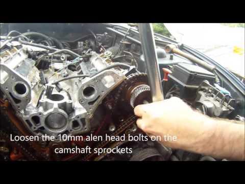 Jaguar XK8 XJ8 V8 Cam Chain and Cylinder Head Removal AJ26/AJ27