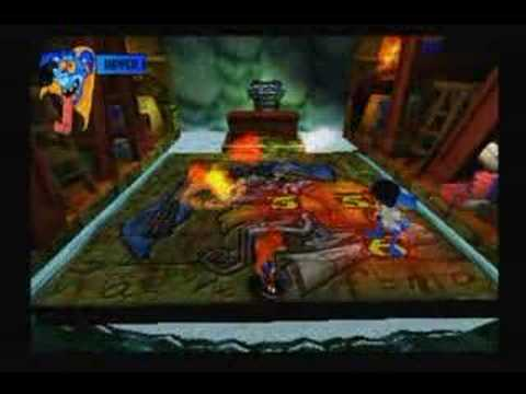 crash bandicoot 2 warp room 1 boss ripper roo youtube. Black Bedroom Furniture Sets. Home Design Ideas