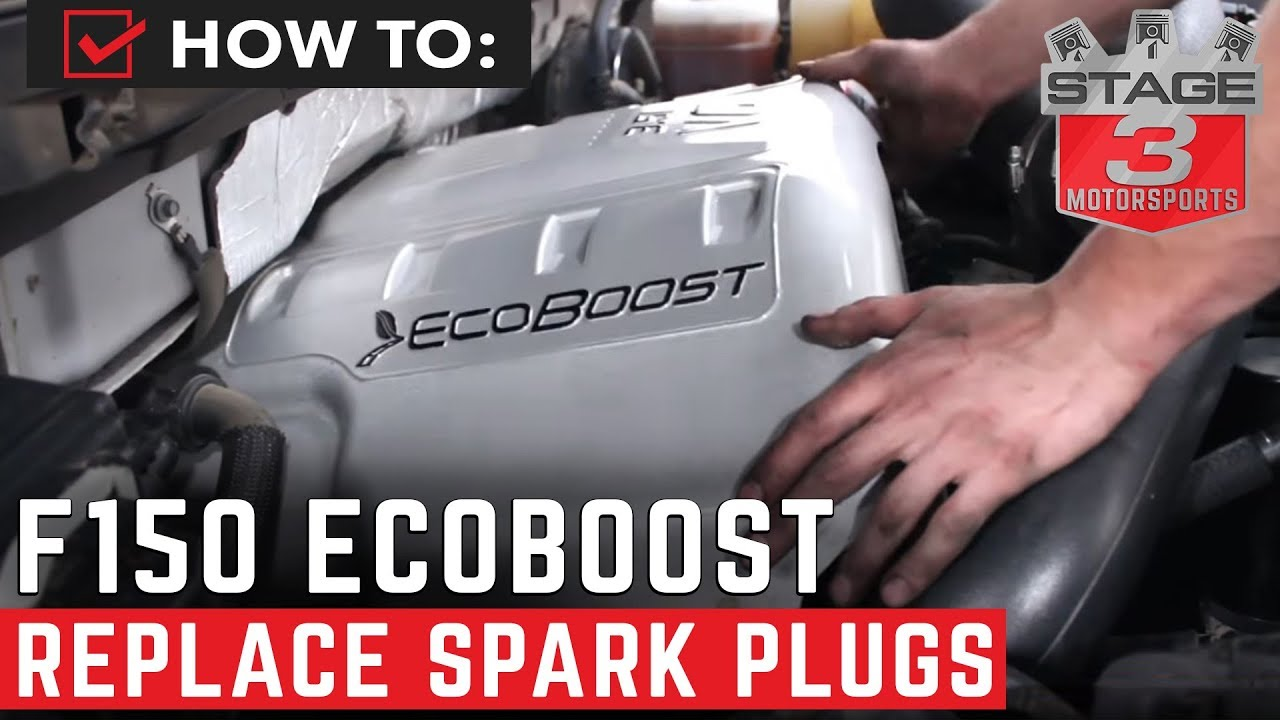 how to replace spark plugs on f 150 ecoboost [ 1280 x 720 Pixel ]