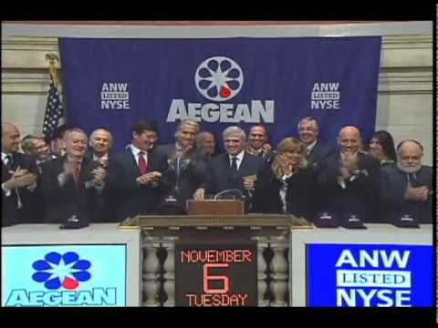 Aegean Marine Petroleum NYSE Bell Ringing Video.avi