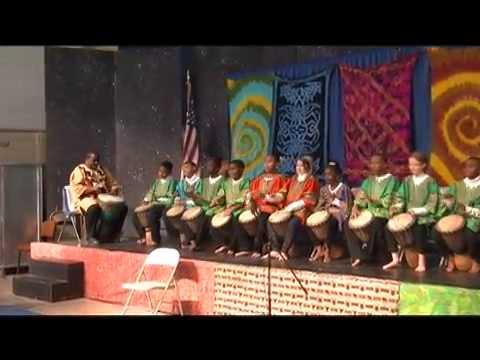 Living Rhythms: Buckner Drum & Dance Performance