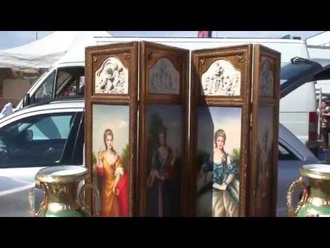 rheinaue flohmarkt flea market in bonn germany doovi. Black Bedroom Furniture Sets. Home Design Ideas