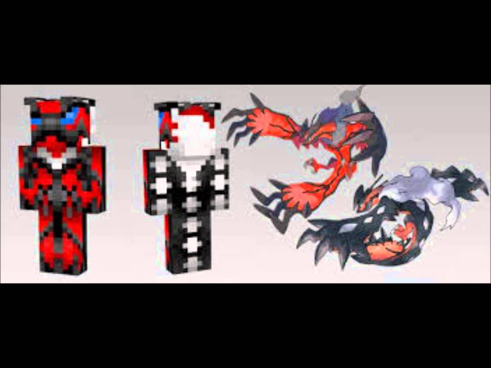Legendary Pokemon Minecraft Skins Youtube
