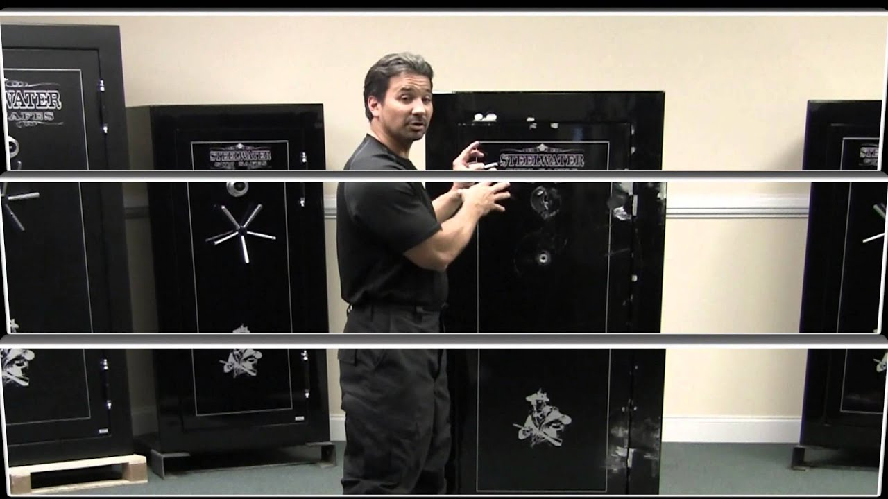 steelwater gun safes handle attack hd