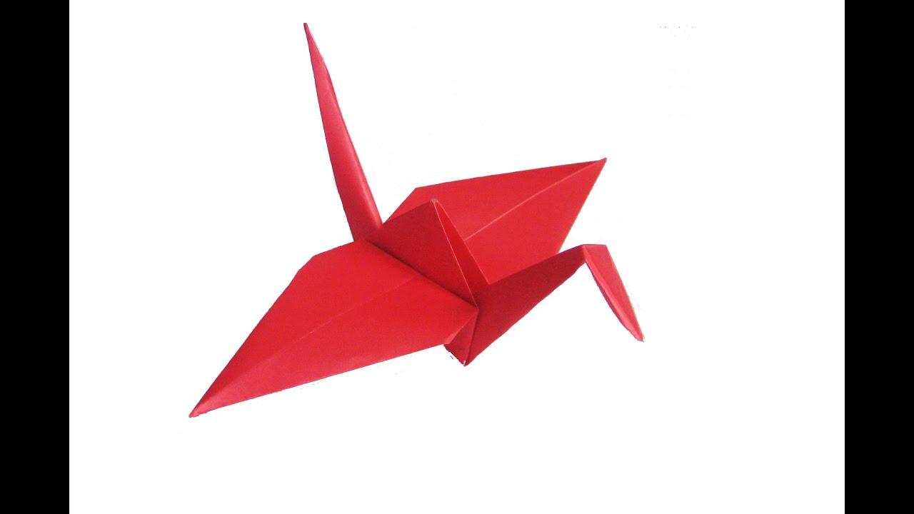 Famous Origami Crane - YouTube - photo#14