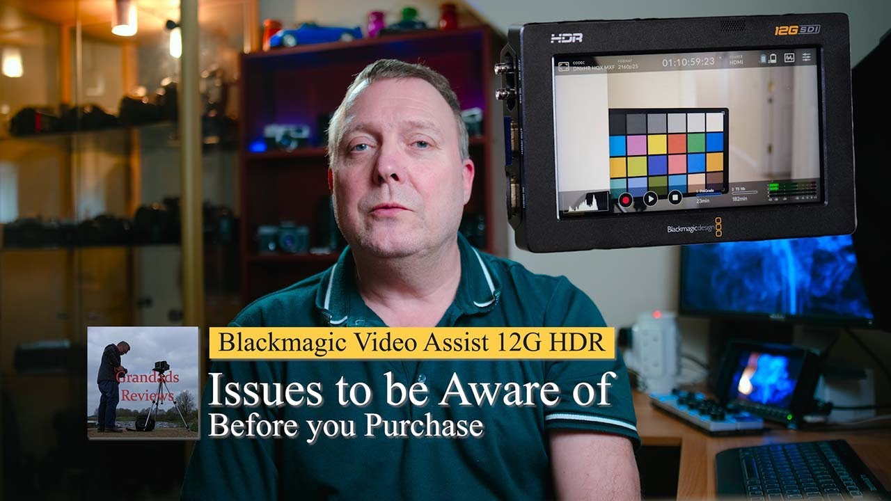 Blackmagic Video Assist 12g Hdr Issues Watch This Before Purchasing Youtube