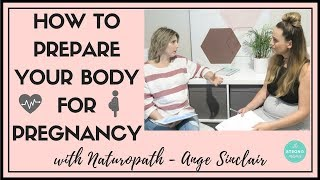 Gambar cover How to prepare your body for pregnancy - with Naturopath, Ange Sinclair.