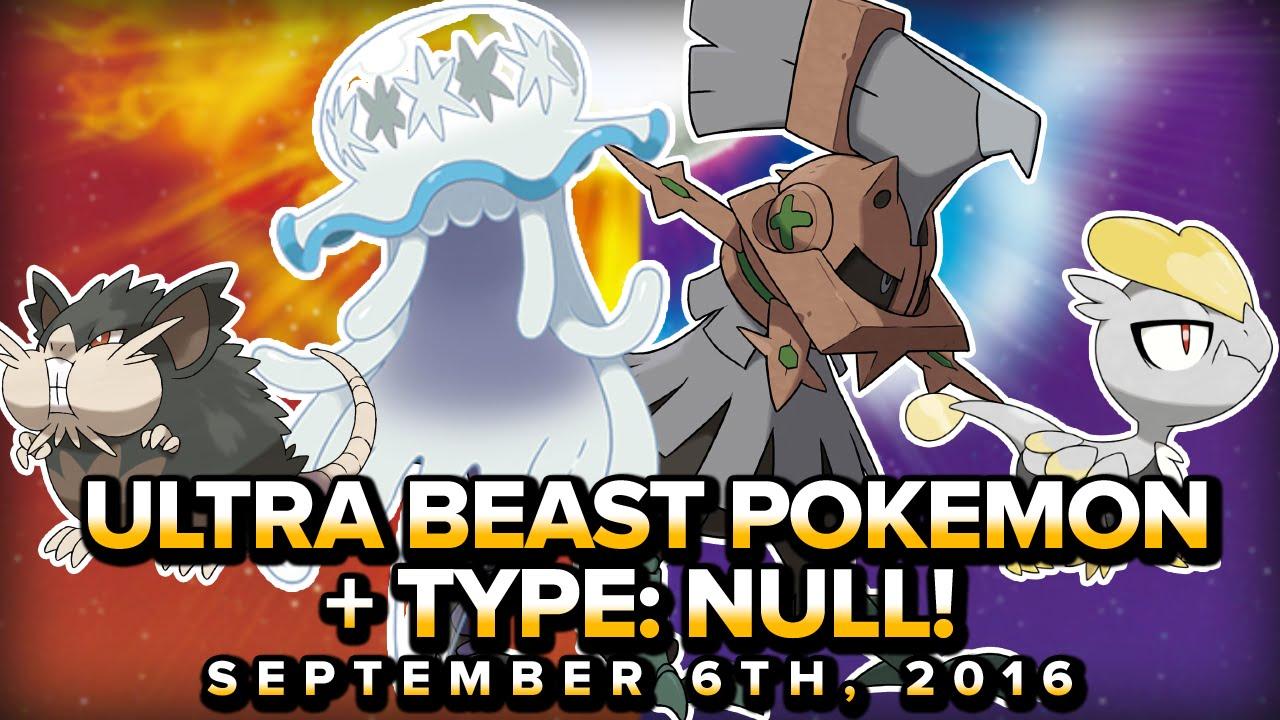 pokemon sun & moon | ultra beast pokemon!! type: null a tool of
