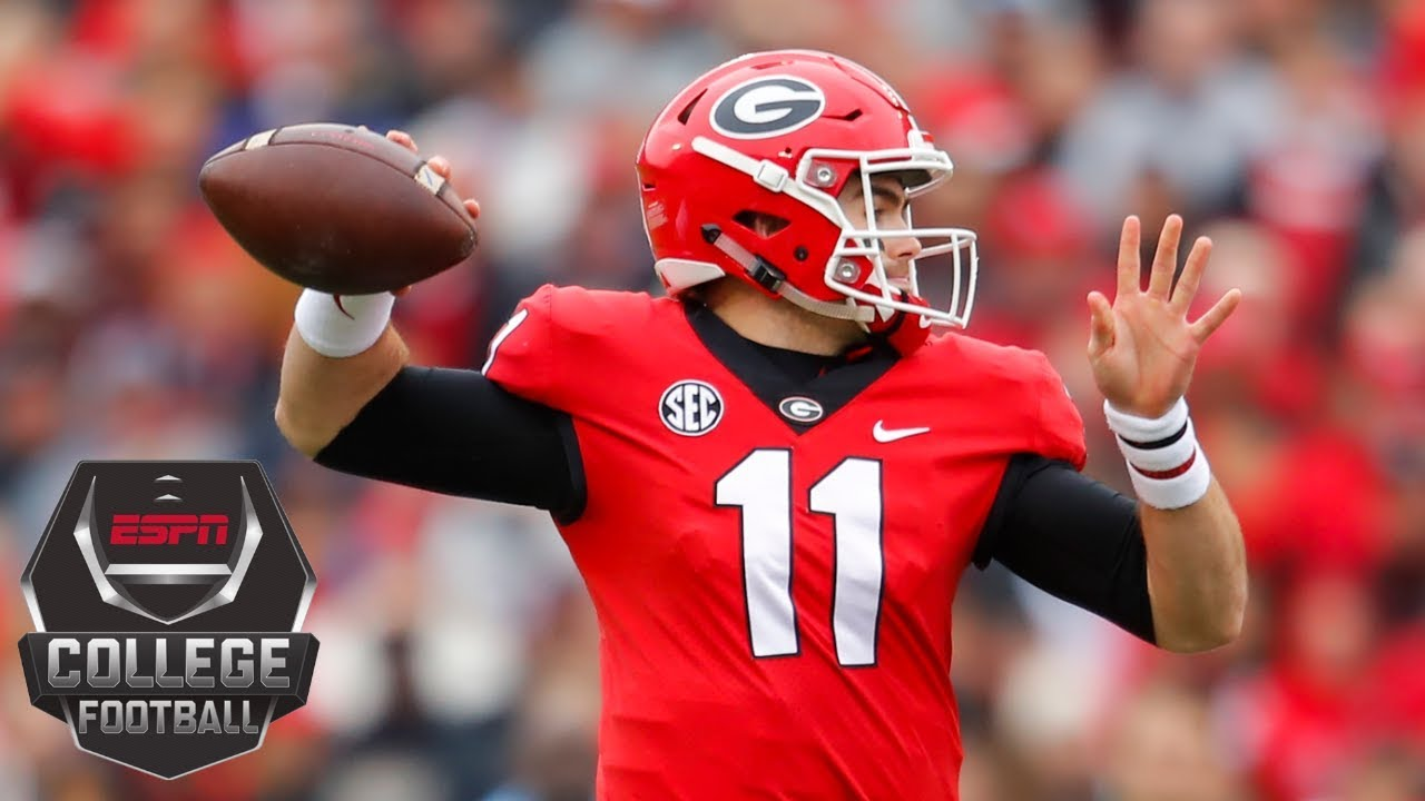 Georgia routs Georgia Tech by 24 as Jake Fromm throws 4 TD | College Football Highlights