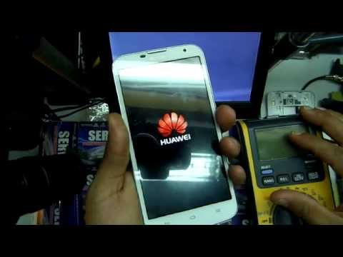 reparacion celular Huawei Ascend G730 no encendia , repair dead g730 not power