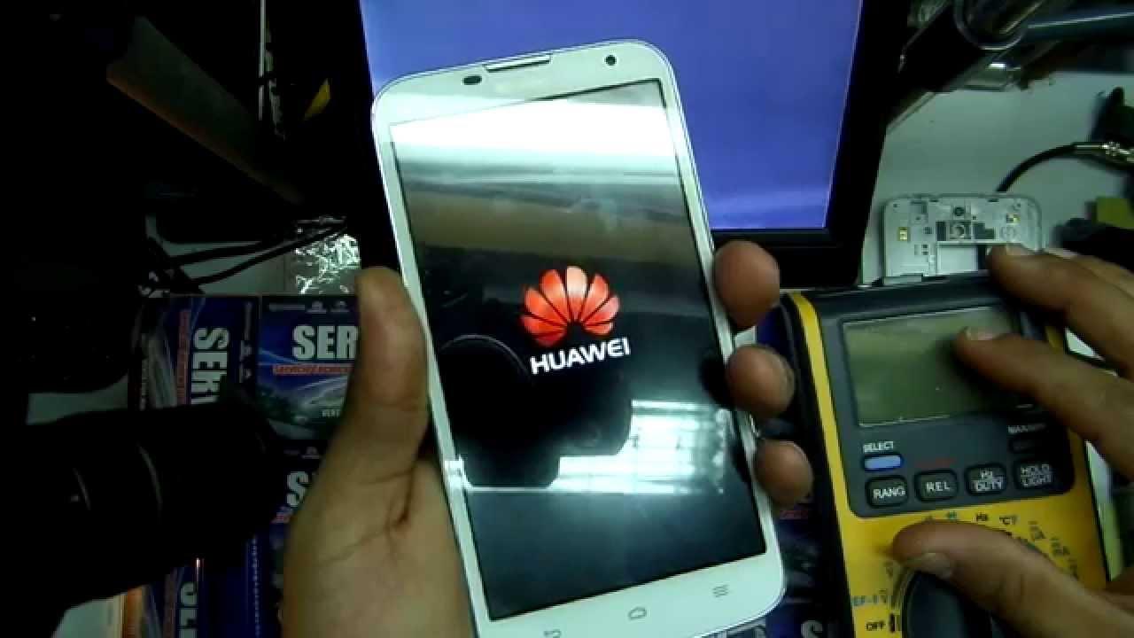 Reparacion Celular Huawei Ascend G730 No Encendia   Repair Dead G730 Not Power
