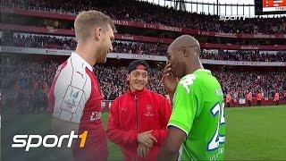 Arsenal bezwingt VFL Wolfsburg | TESTSPIELE SOMMER 2015