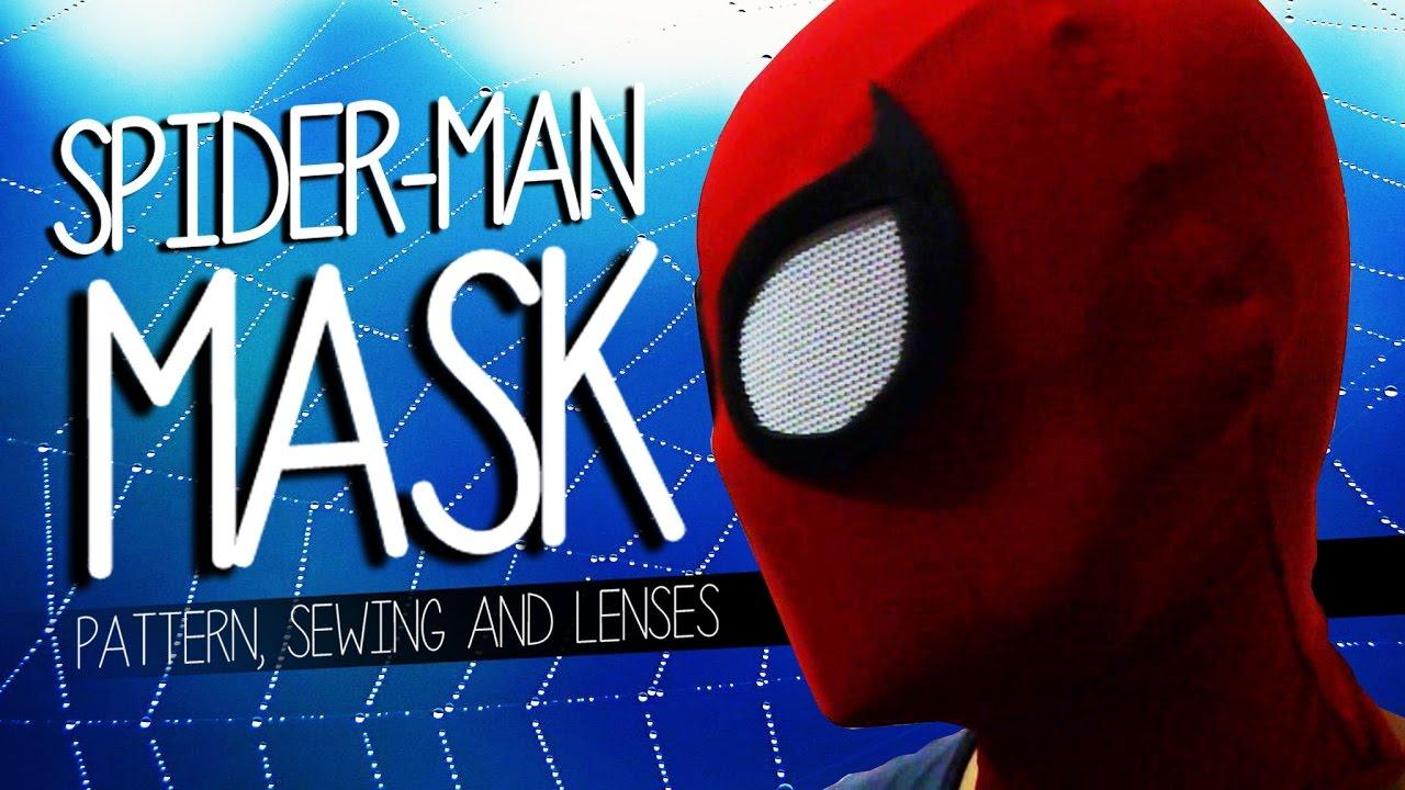 making spider-man mask and lenses