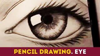 How to Draw a Realistic Eye. Как нарисовать реалистичный глаз карандашом (HD video online)(Как нарисовать реалистичный глаз простым карандашом. Мы вконтакте: http://vk.com/..., 2015-05-28T18:55:43.000Z)