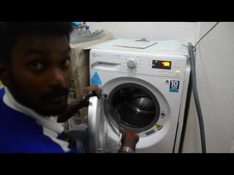 Instruction to Operate Electrolux Washing Machine Cameron Part 1