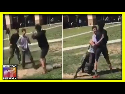 California Marine INSTANTLY Ends High School Fight With One BRUTAL Move