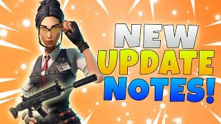 Fortnite 5.4 Content Update Patch Notes | Fortnite New Suppressed Assault Rifle & Mythic Hero