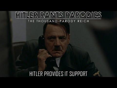 Hitler provides IT Support