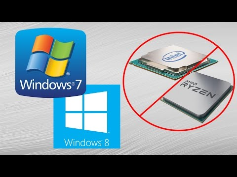 Microsoft's Apparently Sabotaging Windows 7 and 8.1 Updates on Kaby Lake and Ryzen Systems