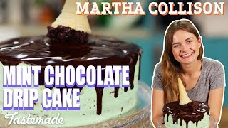 Mint Chocolate Drip Cake I Martha Collison