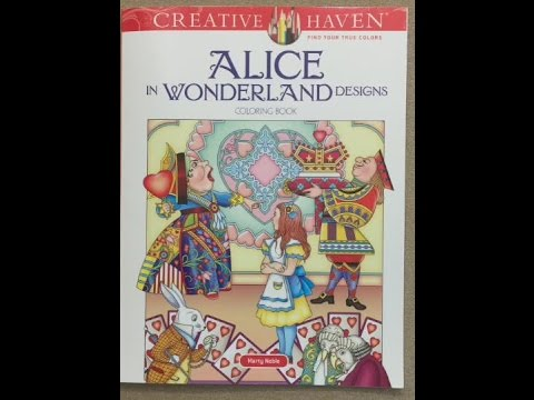 Alice in Wonderland Designs - Creative Haven (Marty Noble) flip through