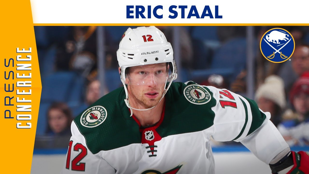 Eric Staal On Being Traded to Buffalo | Buffalo Sabres