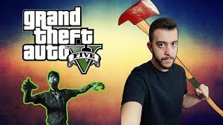 GTA 5 Survival Mod  ⚔️ | Bölüm 1 -  Karakış Ortasında Kaldım