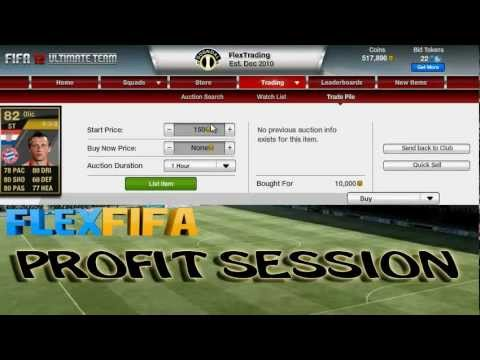 "FIFA 12 - Profit Session Ep.2 - ""Late Night Trading"""