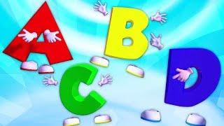 lagu abc | video pendidikan untuk anak-anak | kartun anak-anak | ABC Song In English