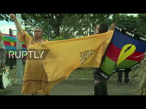 France: Thousands protest independence in New Caledonia