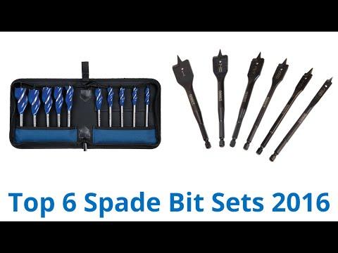 6 Best Spade Bit Sets 2016