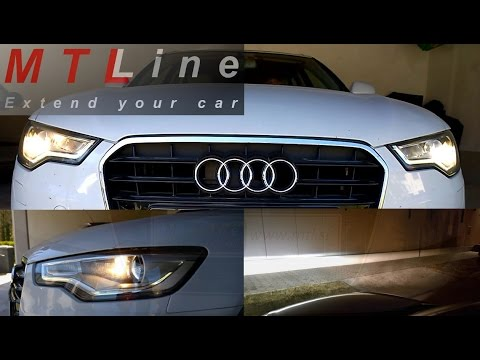 Audi A G MY All Weather Lights As Cornering Lights - All audi