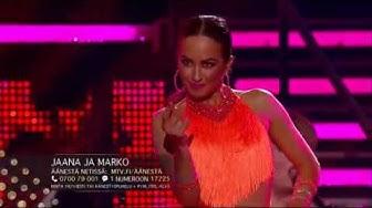 Samba - Jaana Pelkonen & Marko Keränen   Tanssii Tähtien Kanssa   MTV3