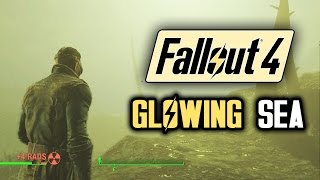 Fallout 4 New Gameplay: THE GLOWING SEA! Death Claws and Rad Scopions! A Walkthrough Of DEATH